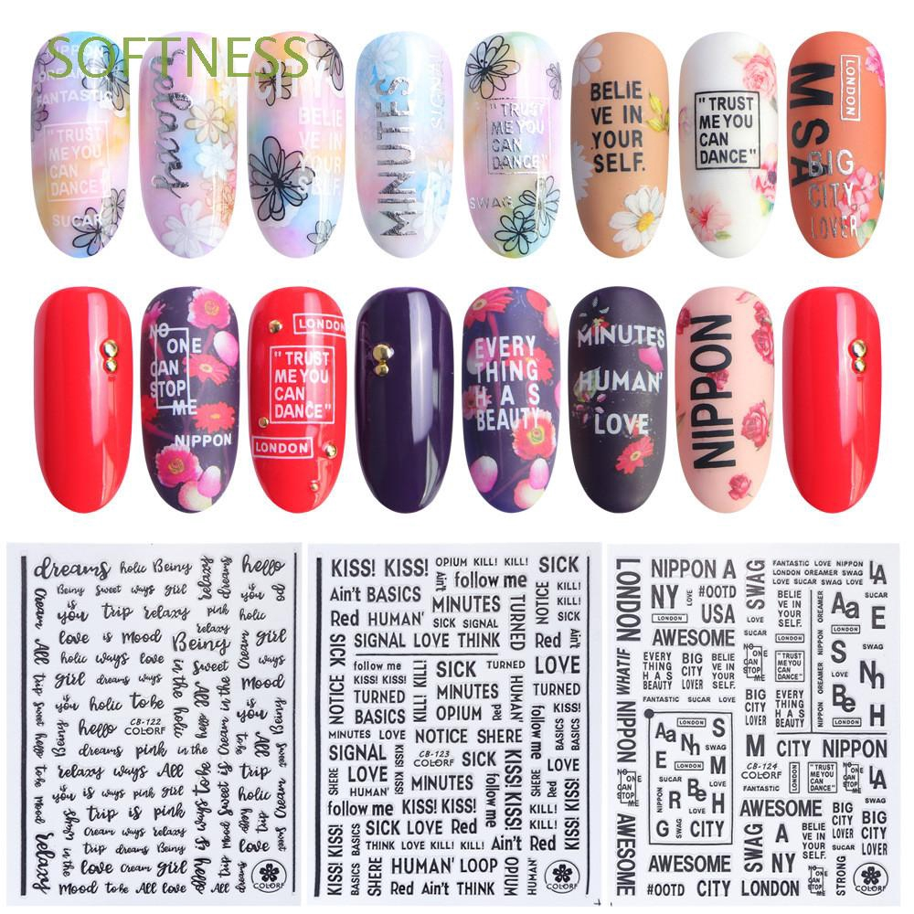 Hot Women Fashion Manicure Decoration DIY Beauty Nail Art Stickers