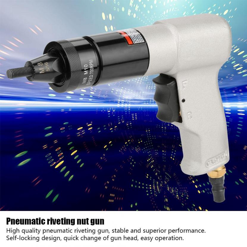 Pneumatic Riveting Nut Tool Self-locking Pull Nut Pneumatic Riveting Tool