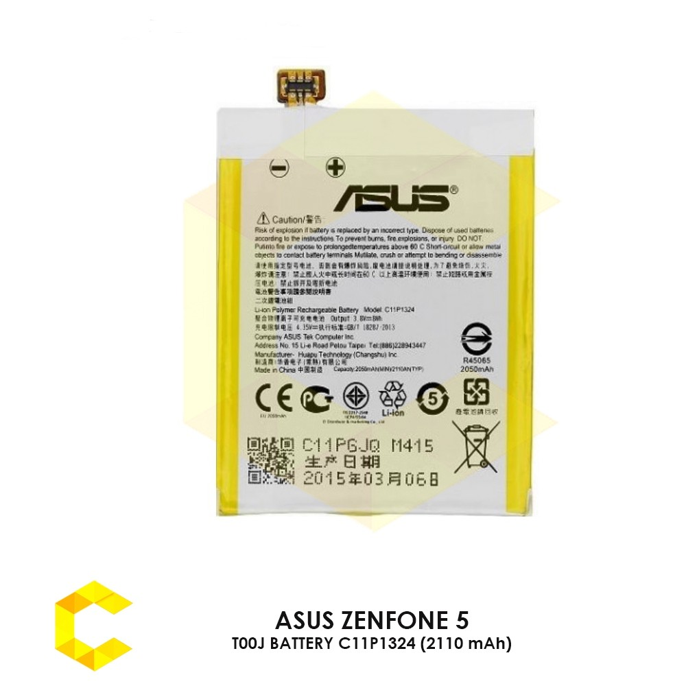 cheap for discount 8165a df9ba ASUS ZENFONE 5 T00J BATTERY C11P1324 (2110 mAh)