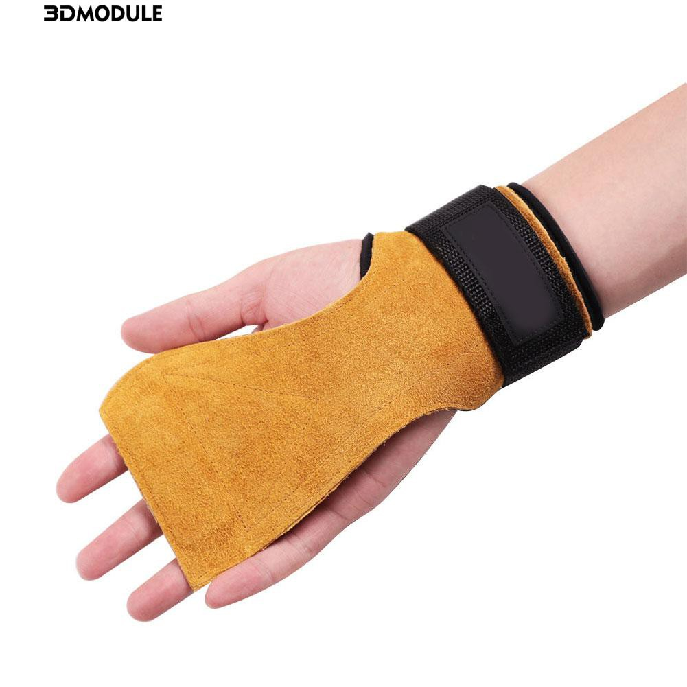 Fitness & Body Building 1 Pair Weight Lifting Glove S M L Hand Grip Synthetic Leather Crossfit Gymnastics Guard Palm Protectors Glove Pull Up Bar Gloves