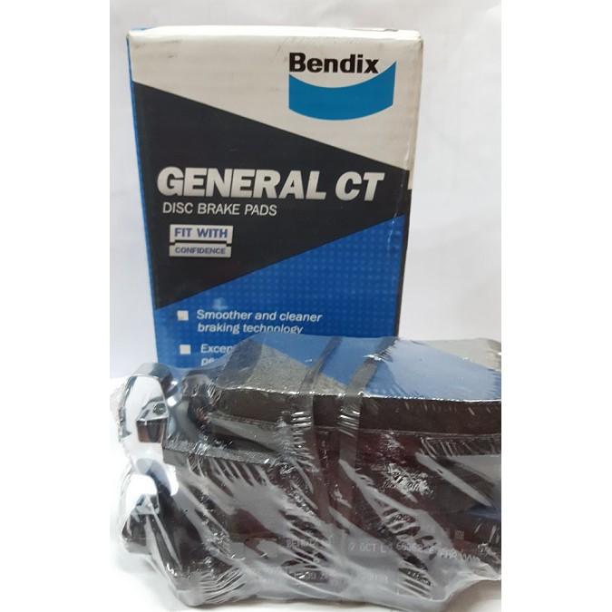 Bendix General CT Disc Brake Pad Rear (DB2227) for Mazda CX-3 CX-5
