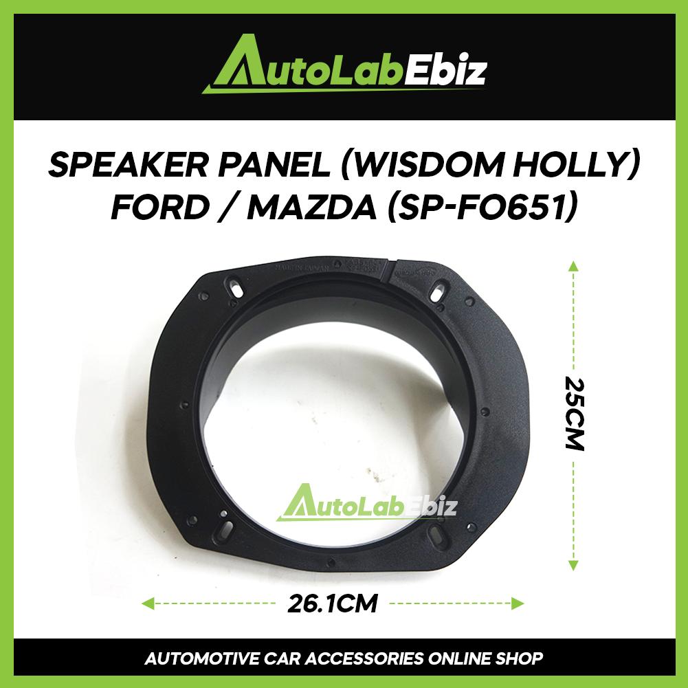 Wisdom Holy Car Door Speaker Panel Cover Trim Car (2pcs) For Ford / Mazda