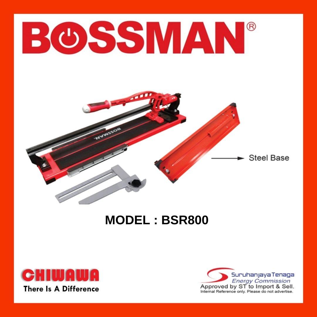 BOSSMAN BSR800 Manual Tile Cutter with Single Rail 800mm