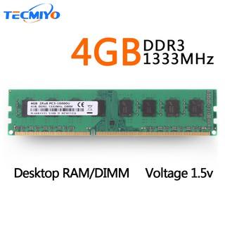 New 4GB 4G CPU PC3-10600U 2Rx8 Desktop Memory DIMM RAM Intel