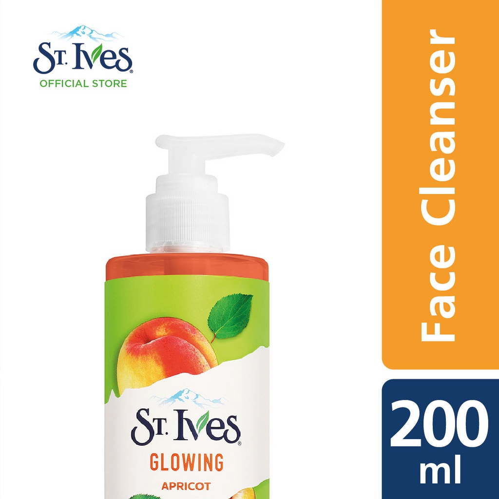 St. Ives Glowing Apricot Face Cleanser (200ml)