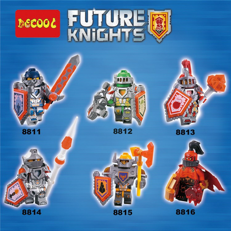 spot explosion6pcs nexo knights building blocks lego