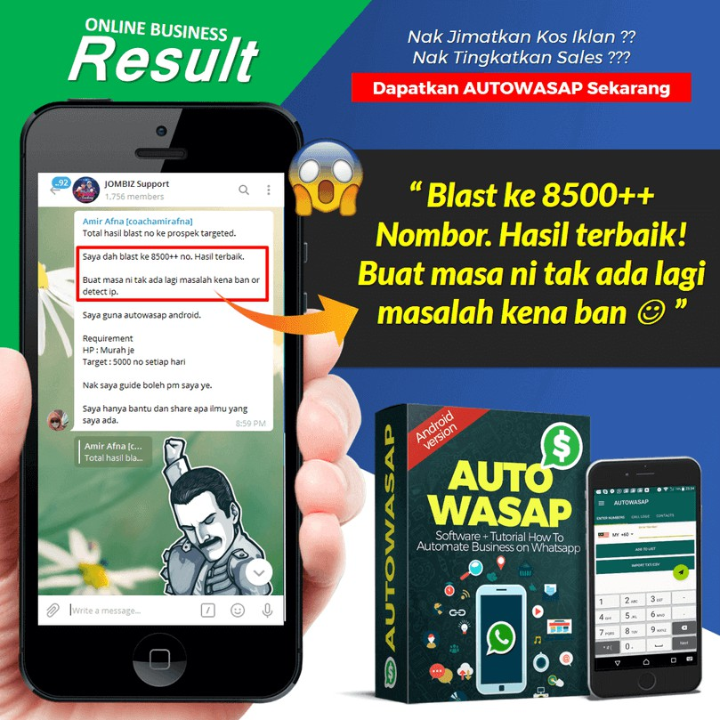 [HOT ITEM] Autowasap Android Software Whatsapp Marketing Robot Whatsapp