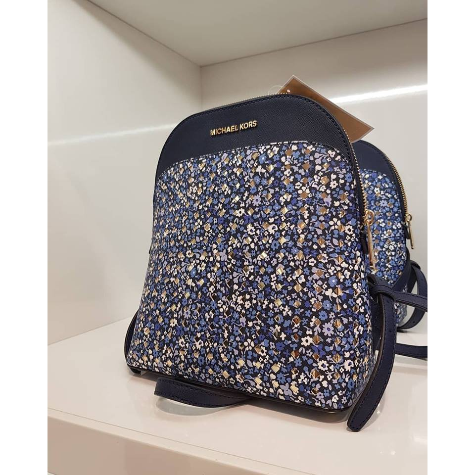 452d7c8c2c45 Michael Kors Emmy Backpack (Small/ Blue) | Shopee Malaysia