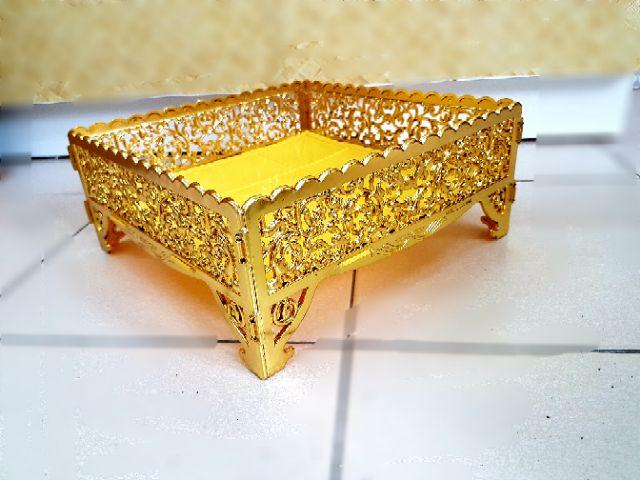 🌸💐 Exclusive Dulang Hantaran Premium Corak Baru (Emas / Silver / Putih ) 💐💐