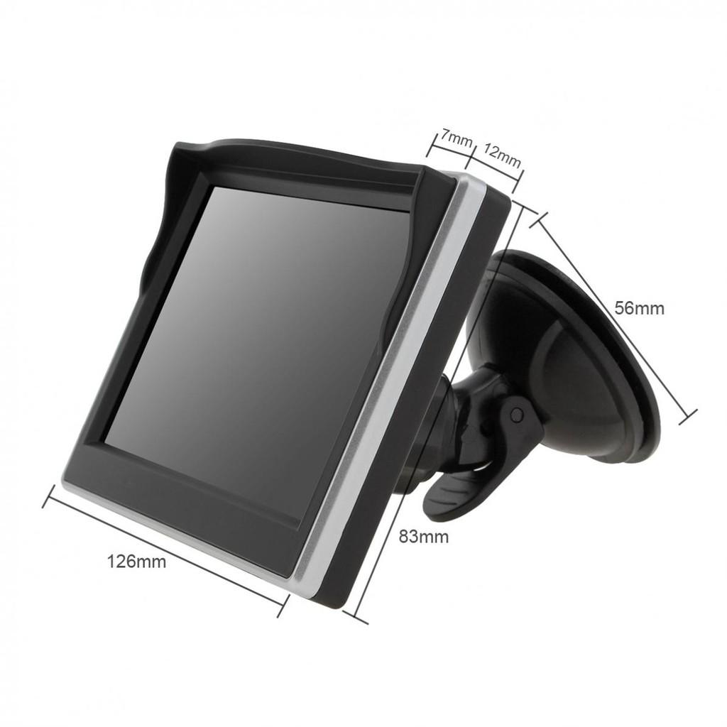 """5/""""HD TFT LCD Car Rearview Monitor+Night Vision Reverse Backup Parking Camera Kit"""