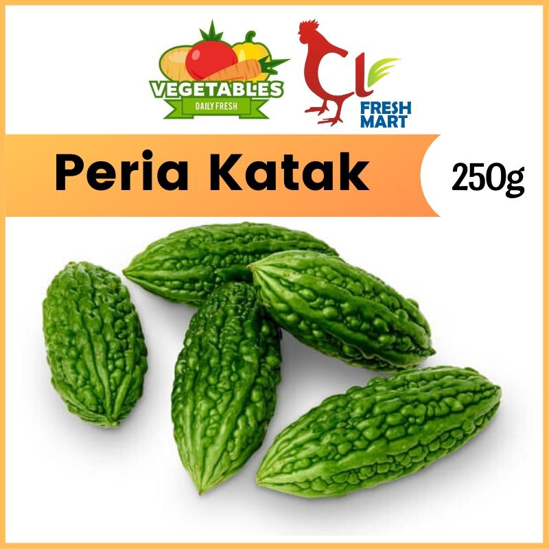 Peria Katak / Bitter Gourd (500g) Fresh Selected