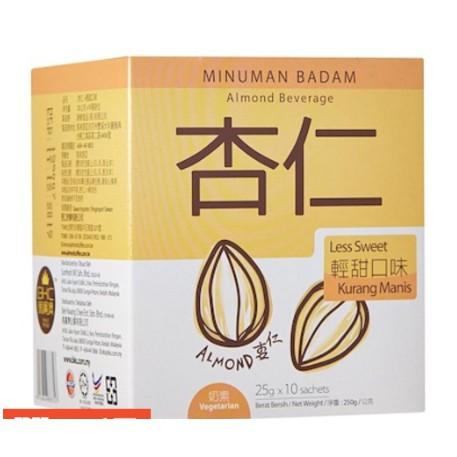 BKC Premix Apricot Kernels Powder Less Sweet 25g x 10sachets