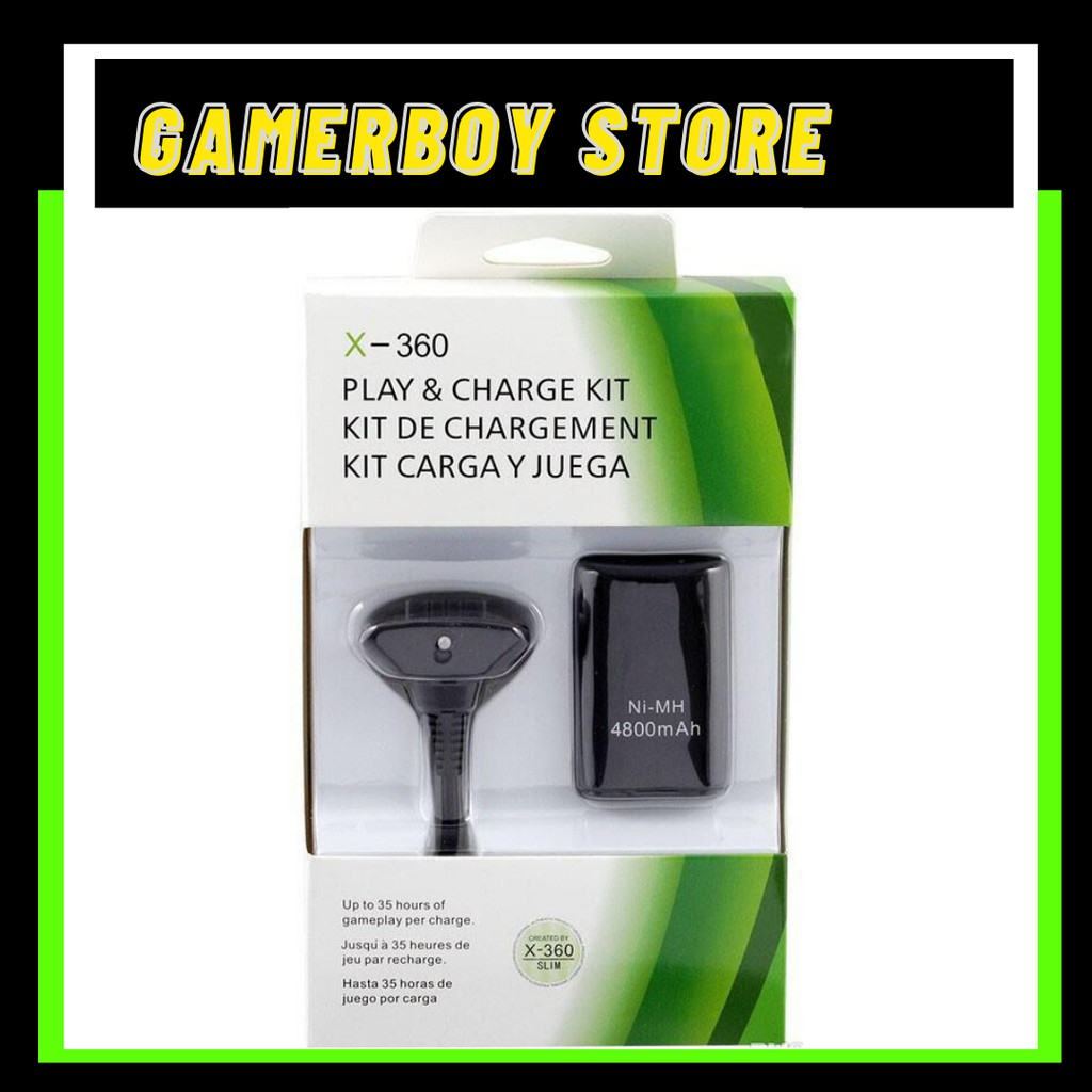 XBOX 360 RECHARGEABLE BATTERY + USB CABLE