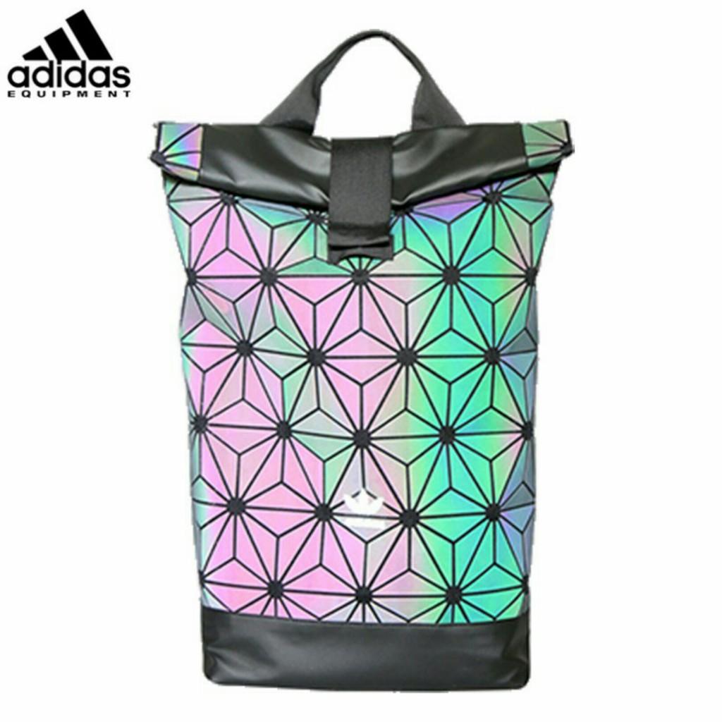 f7dfed7b783f (ready stock) Original Adidas x Issey Miyake 3D Urban Mesh Roll Up Backpack