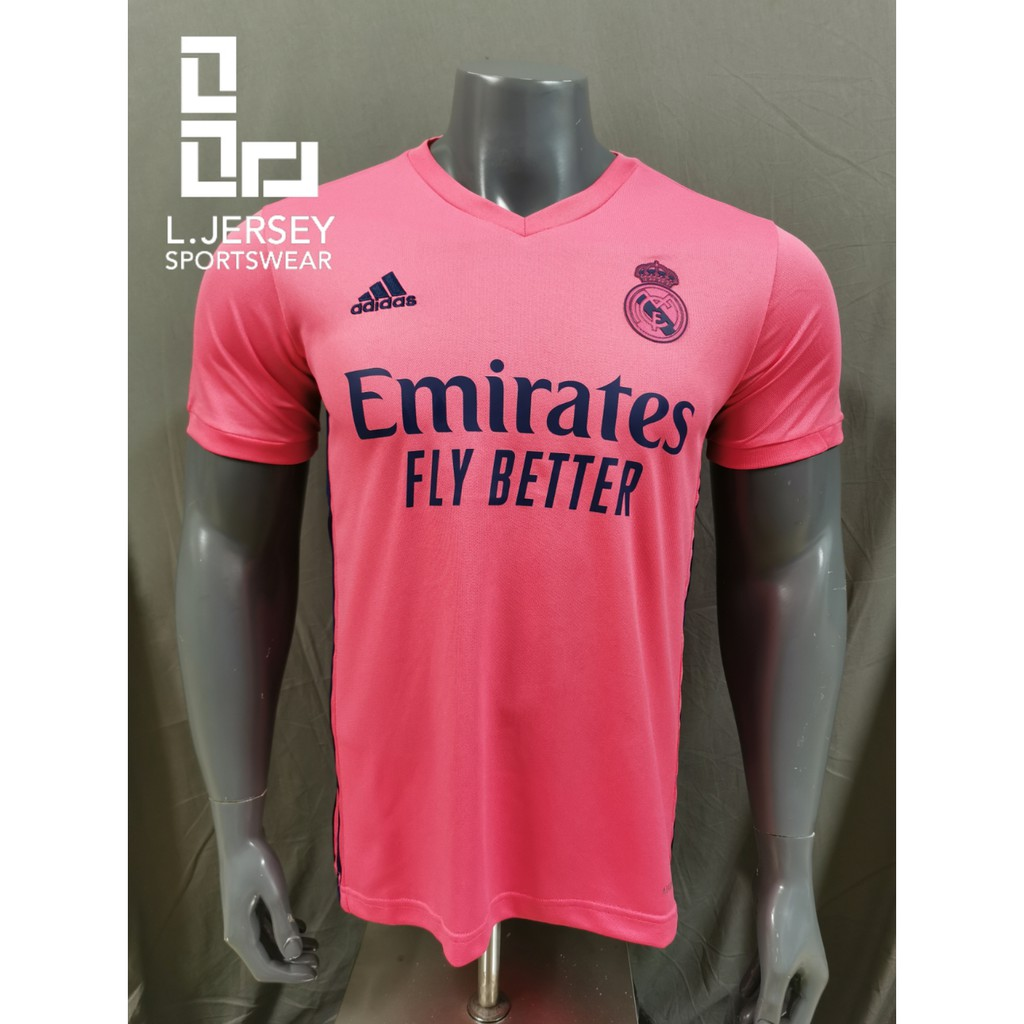 Real Madrid Men Away Season 20/21 CLIMALITE Fans Jersey