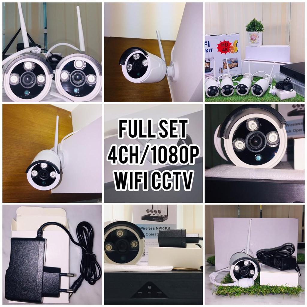 4CH/1080P/2MP WIFI CCTV