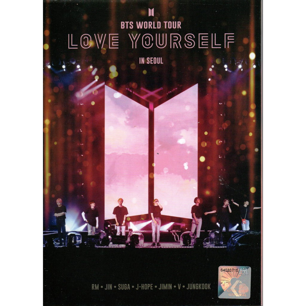 NEW DVD BTS World Tour : Love Yourself In Seoul Concert 2019 (Malaysia  Edition)