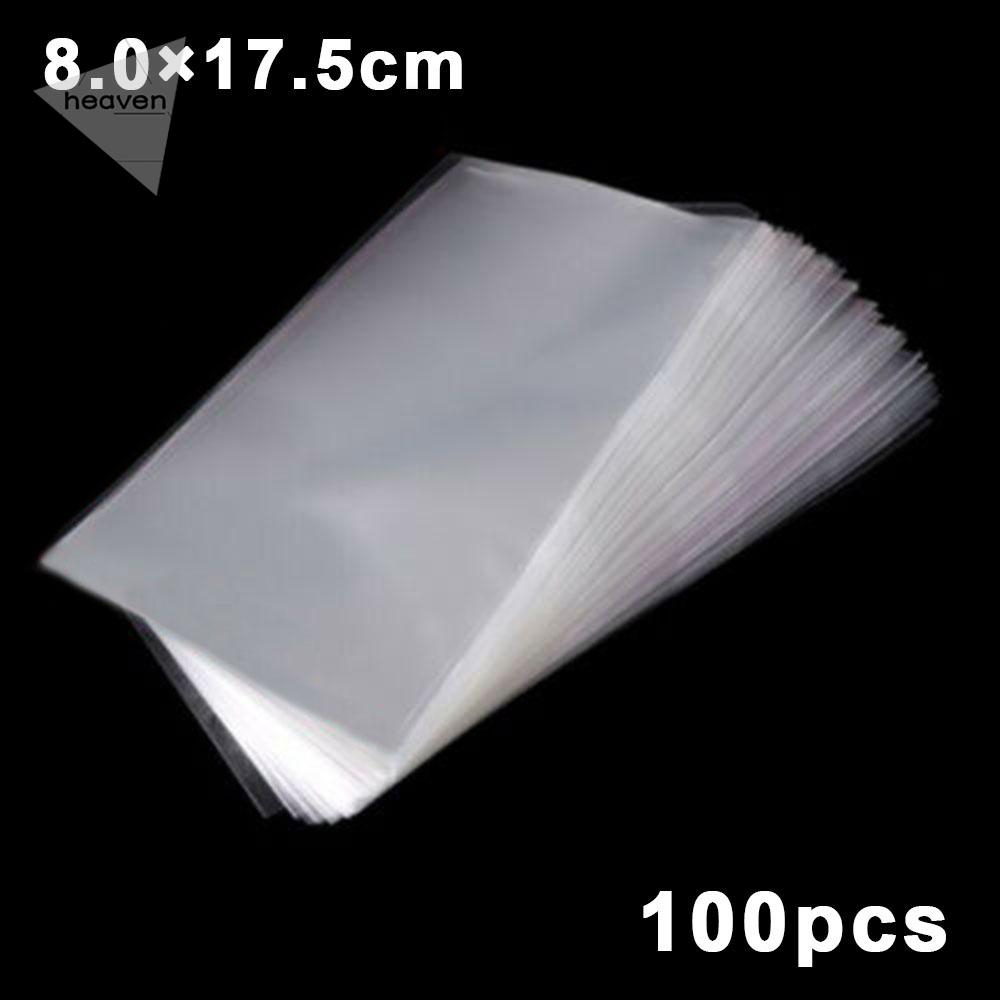 Banknotes Transparent Protective Soft Sleeves 50PCs Paper money 7.5 x 16.5cm