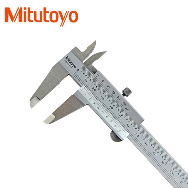 "Mitutoyo 6"" / 150mm Vernier Caliper High Accuracy (Graduation: 0.02mm)  530-312"