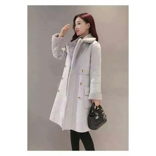 b8c223946ff (Good Value)Women thickened suede in the long wool Warm Outer layer  Thickening C