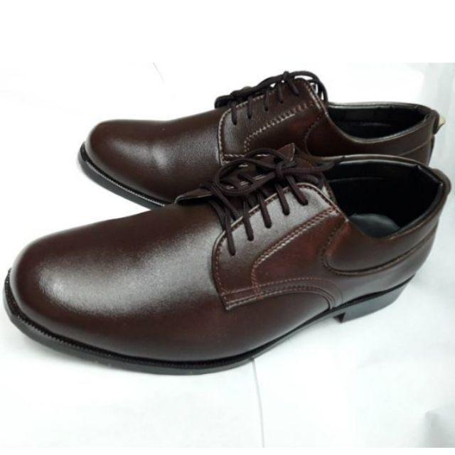รองเท้าหนังผูกเชือก รองเท้าผู้กํากับลูกเสือ รองเท้าลูกเสือครู สีน
