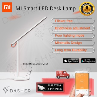 Malaysia Plug) Xiaomi Original Mijia Smart LED Desk Table