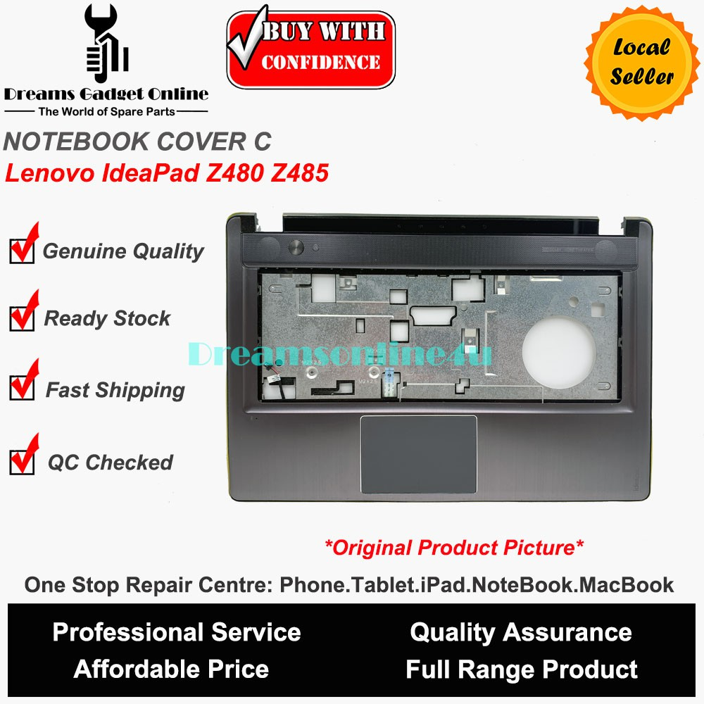 Replacement NoteBook Cover C for Lenovo IdeaPad Z480 Z485 Series