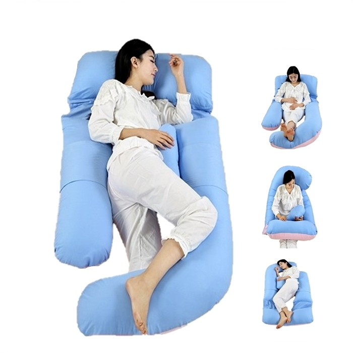 U-Shaped Pregnant Women Pillow Spring Maternity Dress Set