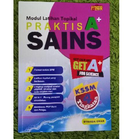 Modul Latihan Topikal Praktis A+ Sains Tingkatan 4 KSSM ...
