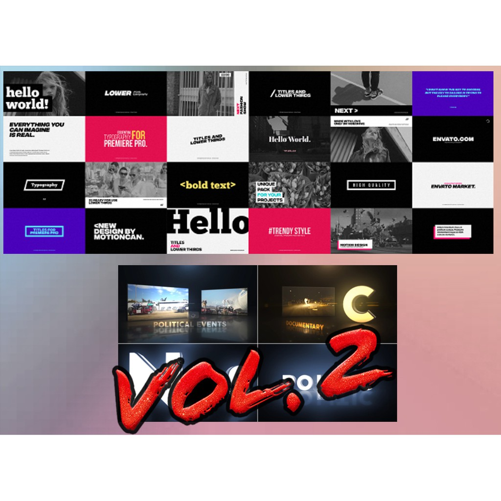 After Effect Template Collection 2019 Volume 2- Each RM1 Deal  Sales  (Google Drive)