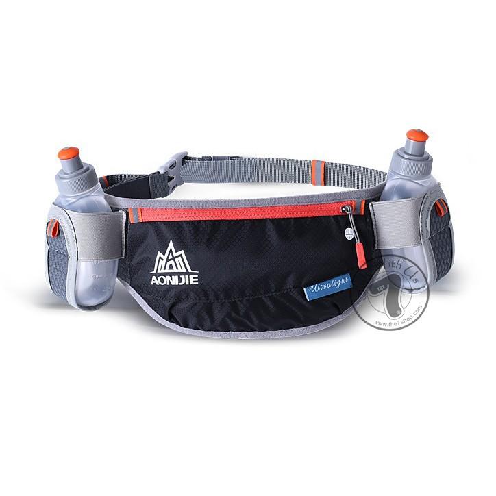 ce097922bad4 AONIJIE Running Hydration Belt Bottle Holder Belt Reflective Running Water  Belt