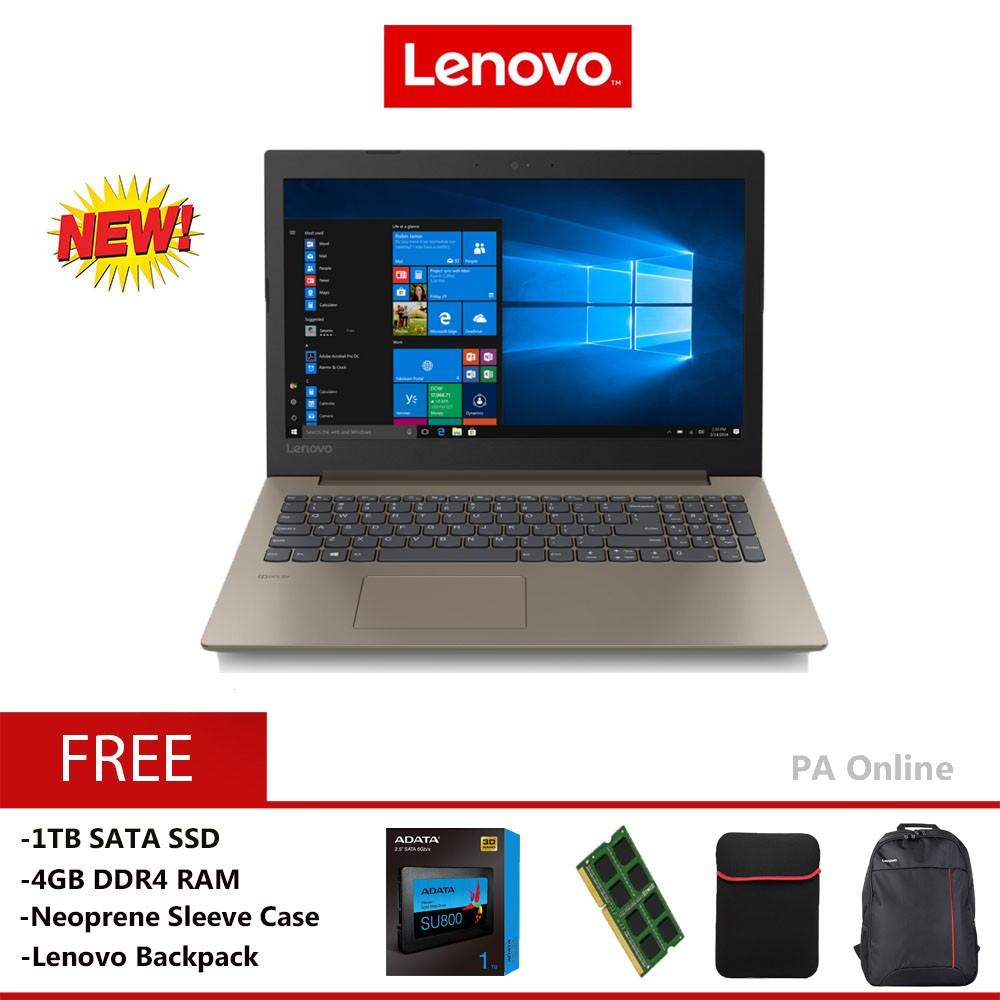 Lenovo Ideapad 330-15IKB81DE01Y9MJ -1TB SSD- Intel Core i5 8250u / 8GB /  1TB SSD / NVIDIA® MX150 2GB / 15 6