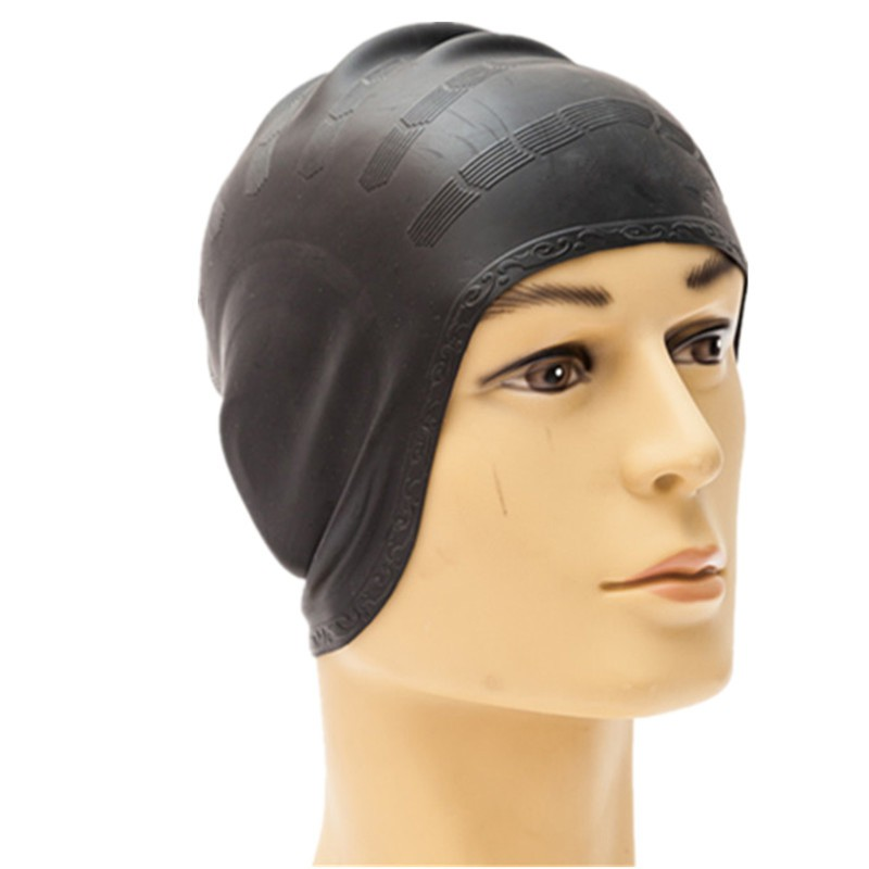 à bas prix lisse style classique de 2019 Silicone Swimming Caps Swimming Hats Water Sports Goods For Man Women Head  Cover