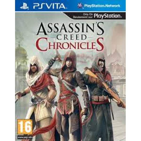 Ps Vita Assassins Creed Chronicles R3 English New Shopee