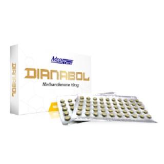 Original Dianabol 10mg/100tabs Meditech Dbol Bulking