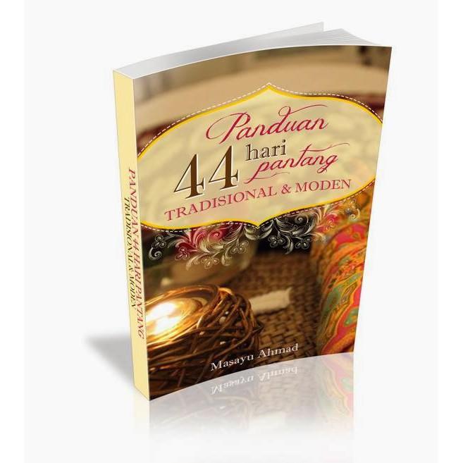 Ebook Panduan 44 hari Pantang Tradisional dan Moden (Buku Digital)