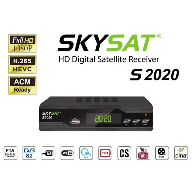 SkySat S2020 Dual Tuner support Videocon