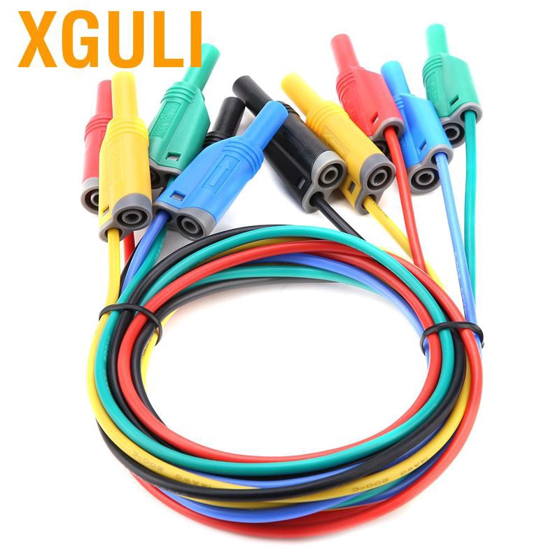 P1050B Electronic Digital Multimeter Test Leads with Crocodile Clips Replaceable Probe Tips Set Electrical Testing Equipment