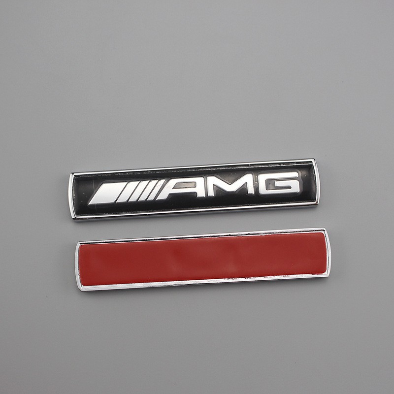 1set AMG Car Strips Stickers Decal Badge Emblem For Mercedes Benz C250 E350 SL