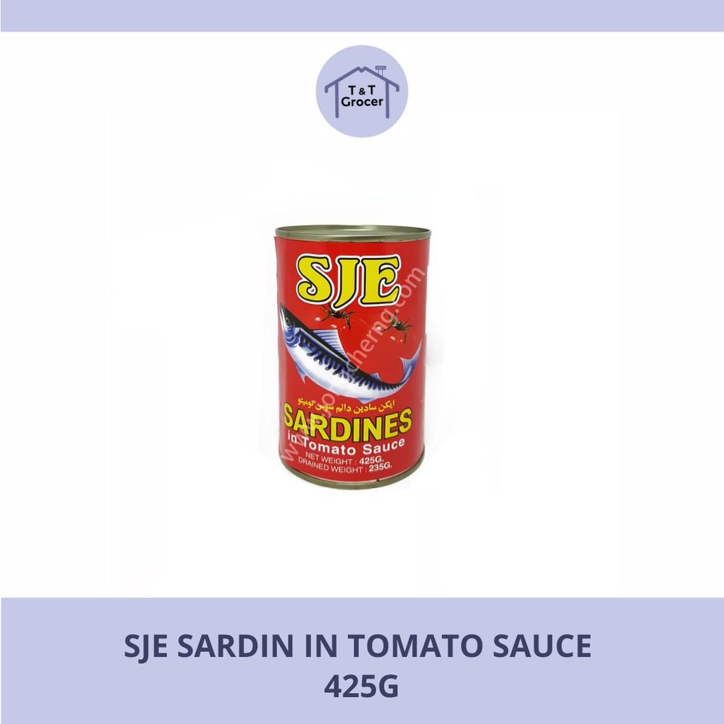 SJE Sardin in Tomato Sause (425g)