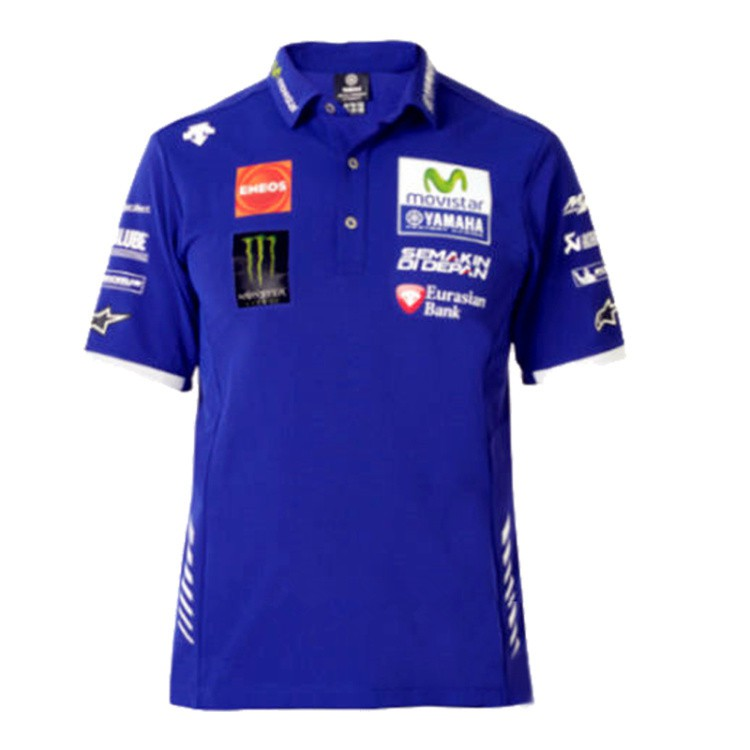 Yamaha Movistar Motogp Valentino Rossi Vr46 Polo Shirts Shopee Malaysia
