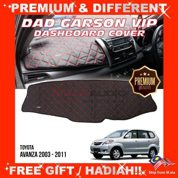 [FREE Gift] TOYOTA AVANZA 2003 - 2011 PREMIUM DAD GARSON VIP Non Slip Dashboard Cover Mat