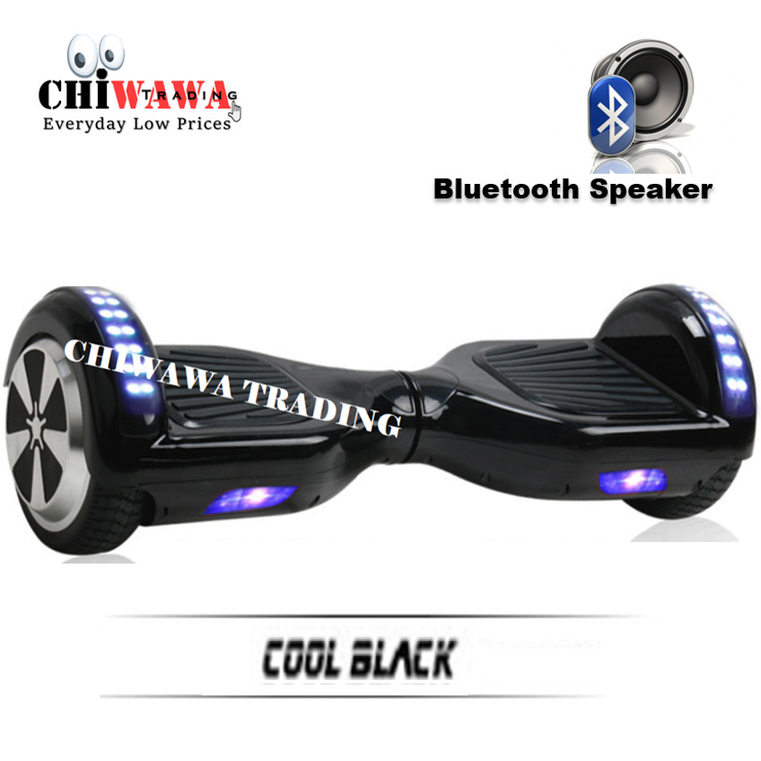 【BLUETOOTH SPEAKER】POWERBOARD HOVERBOARD 6.5 Inch Balance Wheel Scooter