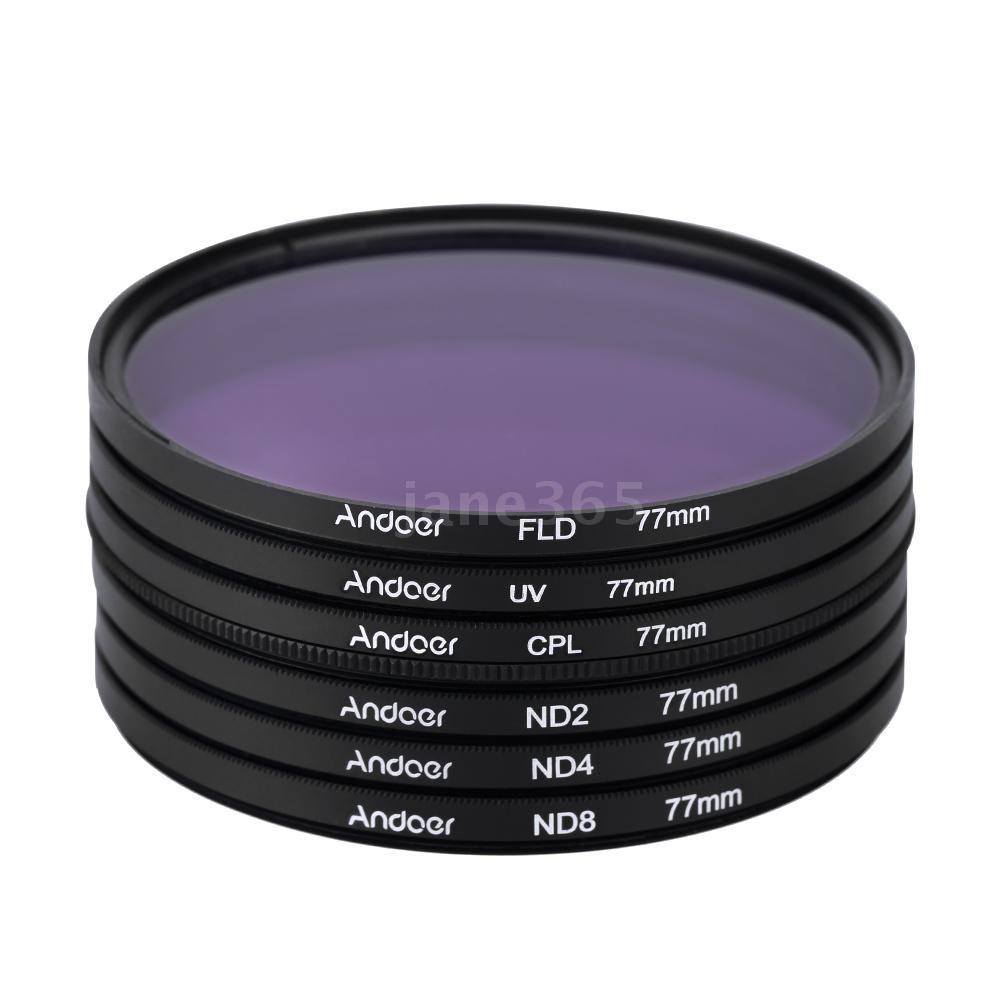 ND UV CPL Filter 3pcs//Set 49 52 55 58 62 67 72 77mm ND2 ND4 ND8 Neutral Density Filter with Box for Canon for Nikon DSLR Lens with Tracking 62mm