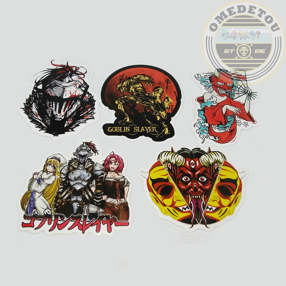 Anime Goblin Slayer Sticker Package A Shopee Malaysia