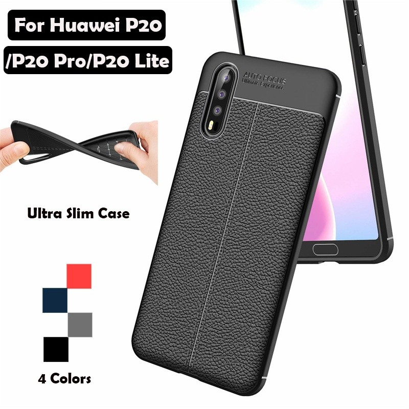 Ultra Slim Phone Case For Huawei P20/P20 Pro/P20 Lite Soft Silicone Back Cover | Shopee Malaysia