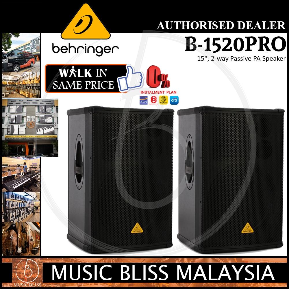 B-1520 8 Ohm, 2 PACK Behringer Speaker Diaphragm Eurolive B-1220 B-315D