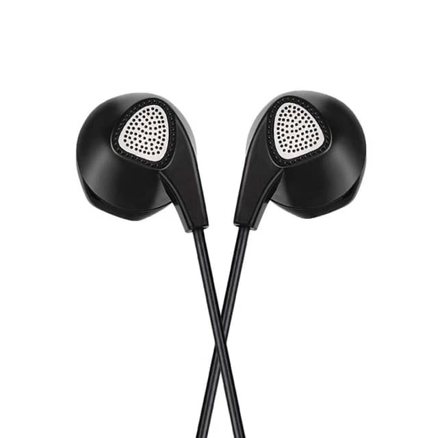 HOCO M2 General wire control earphone with microphone 3.5mm jack connector 1.2m with controller wire headphones