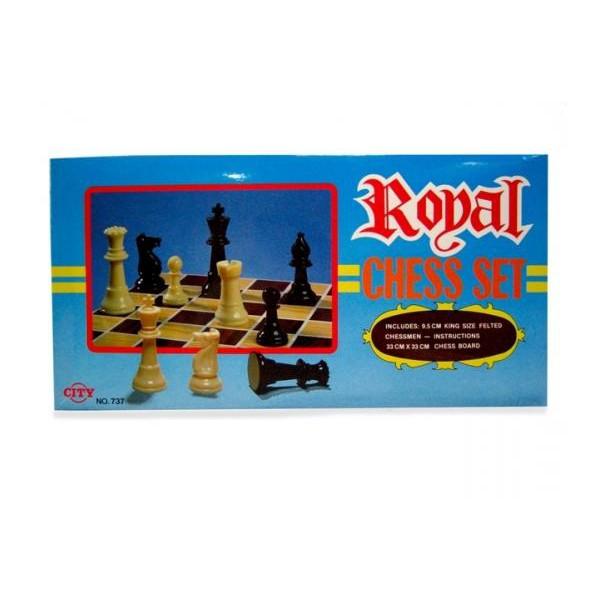 City 737 Royal Chess Set
