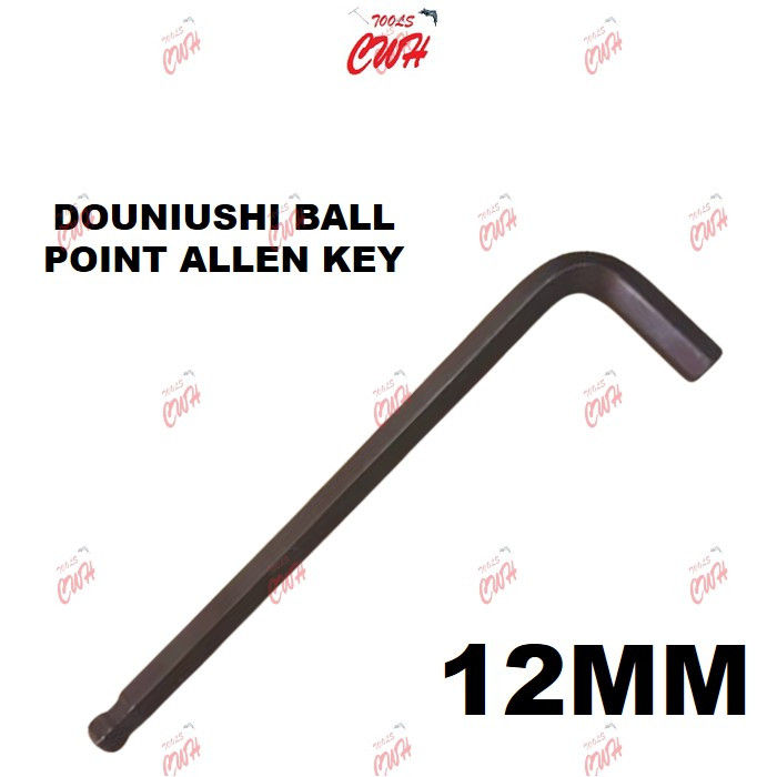 DOUNIUSHI 4MM 12MM S2 BALL POINT ALLEN KEY DRIVER